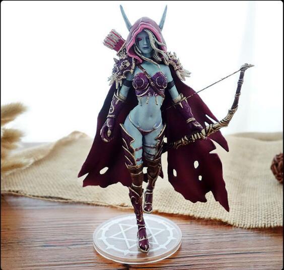 Фигурка World of WarCraft - Sylvana Hunter Сильвана Охотница