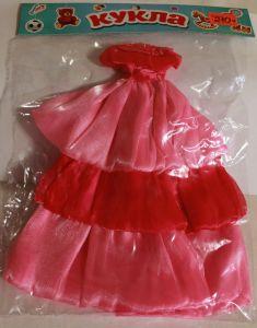 ! платье для барби двухцв, ячейка: 20