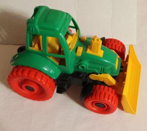 ! трактор с грейдером, ячейка: 34