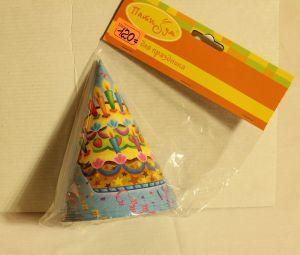 ! колпак 6шт празд торт, ячейка: 98