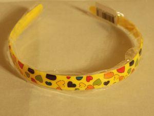 ! ободок цв серд желт, ячейка: 106