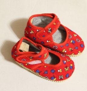! детс тапочки-туфельки крас размер 130, ячейка: 141