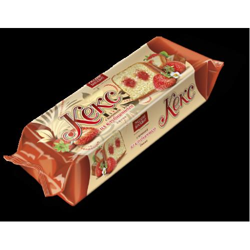 Кекс Русский бисквит клубника 225г