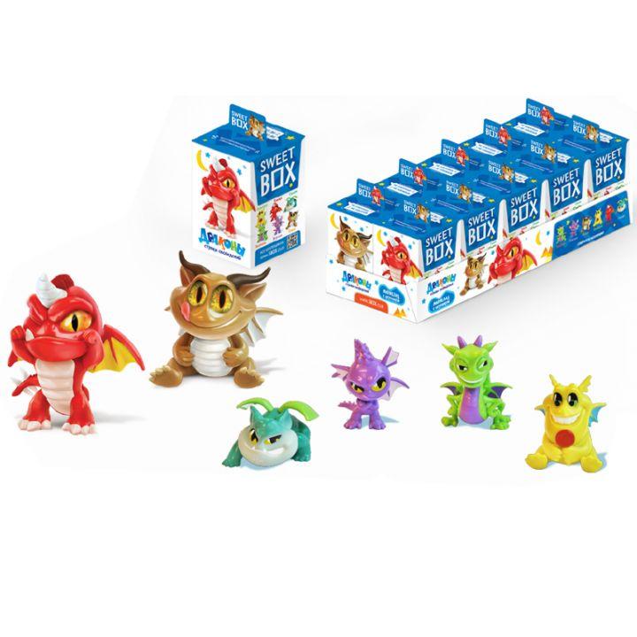 Мармелад с игрушкой SweetBox Драконы 10г