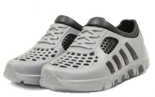 Кроссовки ЭВА 110 серо-черные