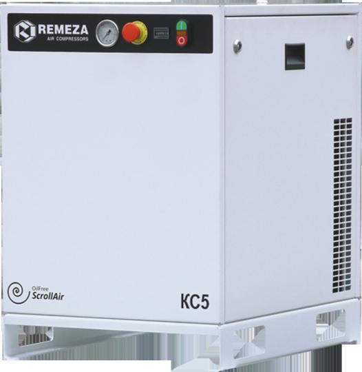 Спиральный безмасляный компрессор КС5-8(10)М