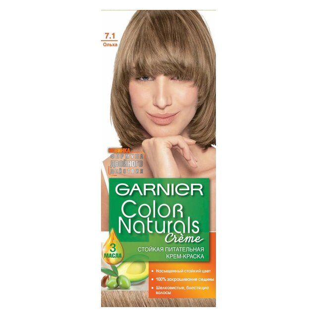 Краска д/волос Garnier Color naturals 7.1 Ольха