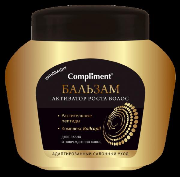 Бальзам-ополаскиватель д/волос Compliment 500мл Активатор роста