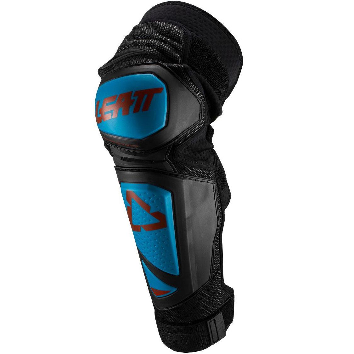 Leatt EXT Knee & Shin Guard Fuel/Black наколенники