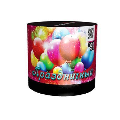 """Батарея салютов """"Праздничный"""" 9 залпов"""