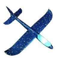 Самолет Планер 45 см LED подсветка  в ассортименте