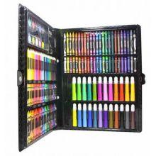 Набор для рисования в чемодане, 150 предметов, Цвет: Чёрный
