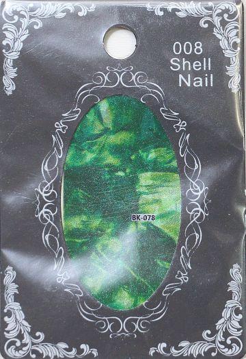 Фольга SHELL NAIL 008 vk-078 битое стекло