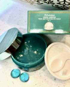Патчи для глаз JMSOLUTION Marine Luminous Pearl Deep Moisture Eye Patch