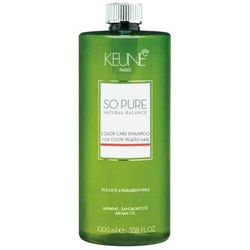 Keune So Pure Шампунь Забота о цвете Color Care Shampoo, 1000 мл.