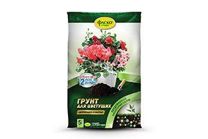"""Грунт для цветущих растений """"Цветочное счастье"""" 5л Фаско"""