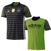 Футболка adidas Deutscher Fussball-Bund Away Jersey серая