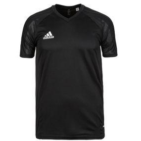 Детская футболка adidas Tiro 17 для тренировок чёрная