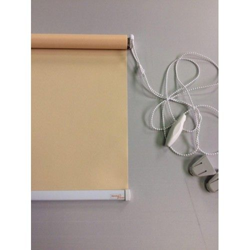 Рулонные шторы, цвет персиковый