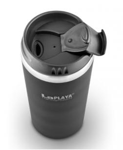 Кружка-термос из нержавеющей стали LaPlaya Mercury Mug 0.4L black 560016