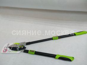 Сучкорез контактный с храповым механизмом и телескопической рукояткой 0208