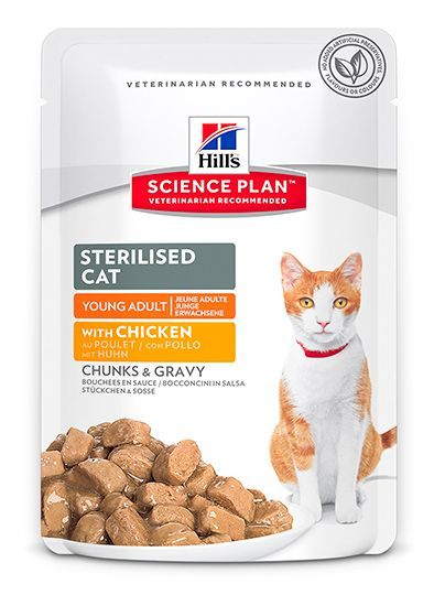 Hill's Science Plan Feline Sterilised with Chicken 85 гр.