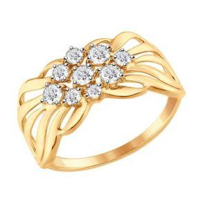 Кольцо SOKOLOV 017341 золото 585