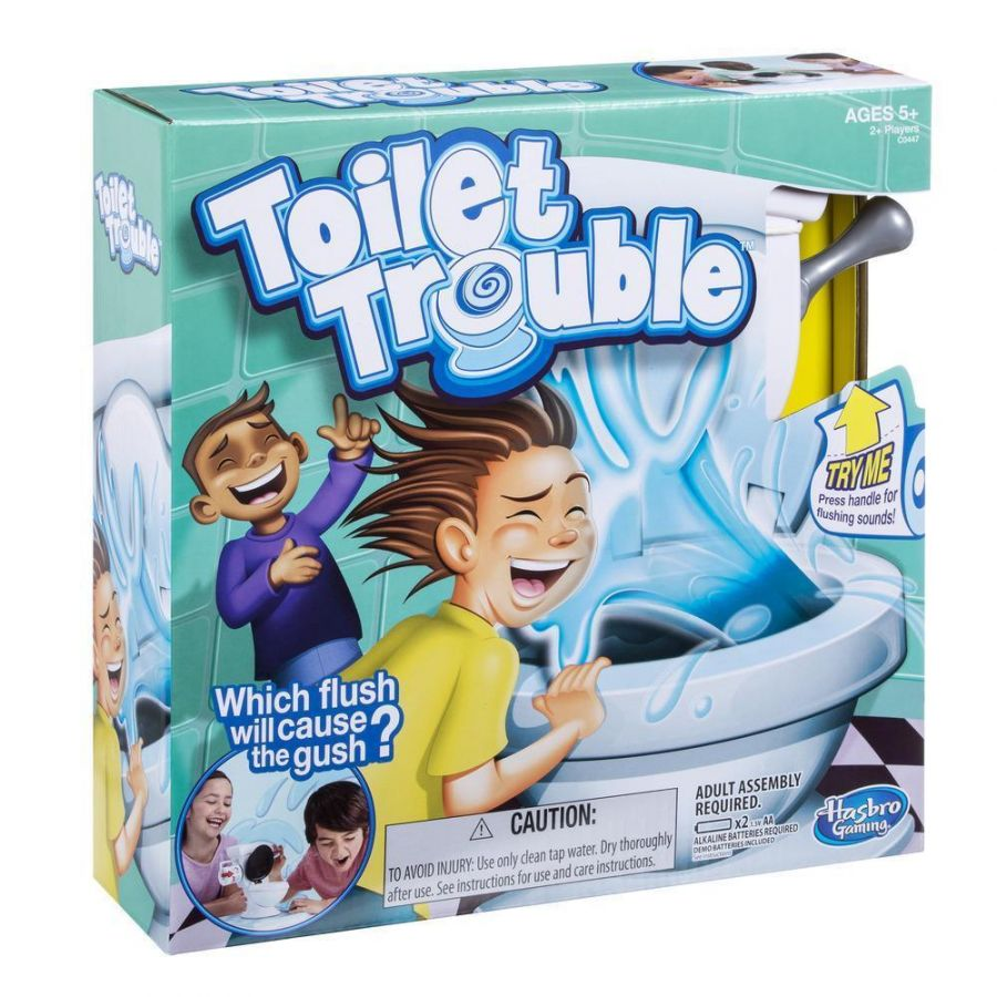 Туалетное приключение (игра унитаз)