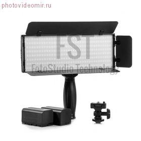 Постоянный свет FST LED PT-30B PROII светодиодный накамерный осветитель + ac power