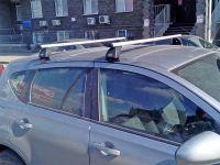 Багажник на крышу Nissan Qashqai (5-dr CUV 2007-13), Lux, крыловидные дуги