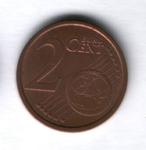 2 евроцента 2008 года Италия