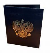 Альбом (папка) для монет или банкнот из искусственной кожи (ГЕРБ РОССИИ)