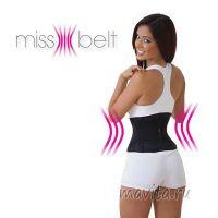 """Пояс для формирования фигуры и похудения """"Miss belt"""", Размер S/M"""