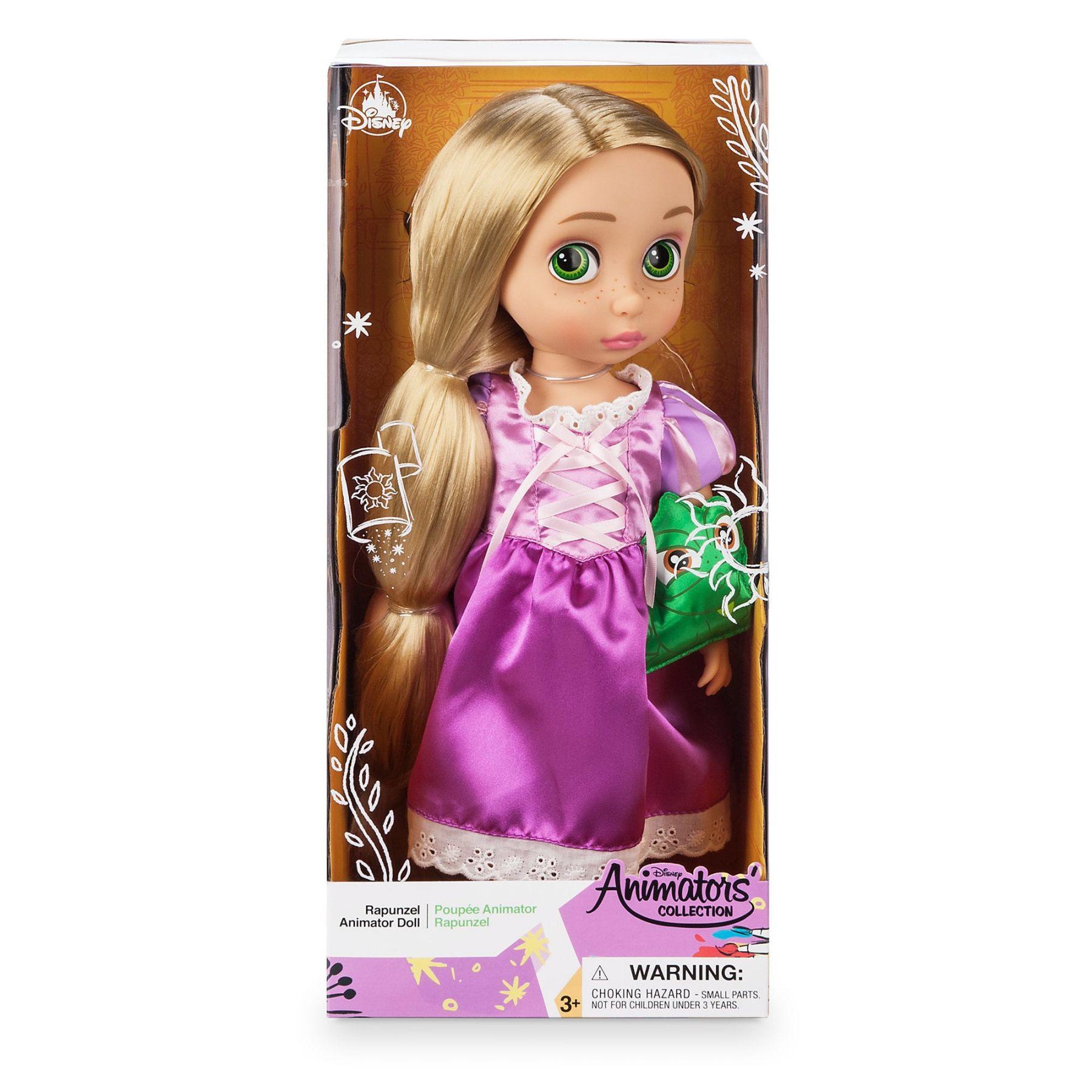 Кукла Рапунцель 2019года в детстве 40 см Дисней