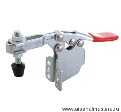 Зажим механический с горизонтальной ручкой усилие 227 кг GOOD HAND GH-225-DSM