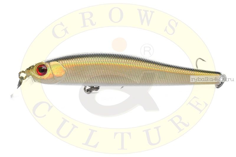 Воблер Grows Culture Rige 90F 90мм/  9,5гр/ цвет:  522R