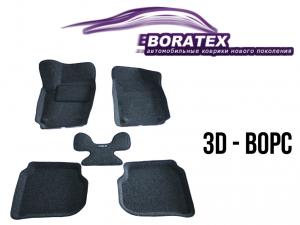 Ковры салона 3d комплект Boratex Volkswagen Polo Sedan