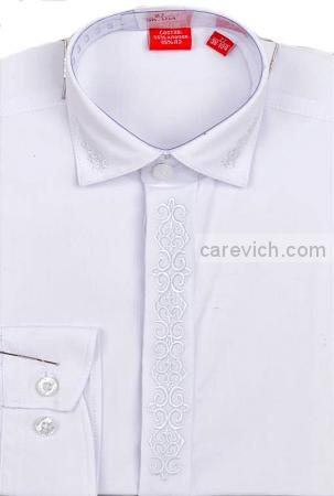 Детская рубашка дошкольная,   оптом 10 шт., артикул: PT2000-19 lt