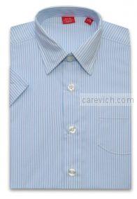 Рубашка с коротким рукавом, оптом 10 шт., артикул: Alex 83-K