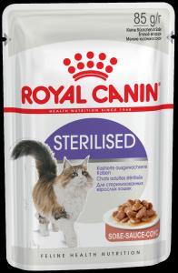Консервы Royal Сanin Sterilised мелкие кусочки в соусе для стерилизованных кошек 85 гр