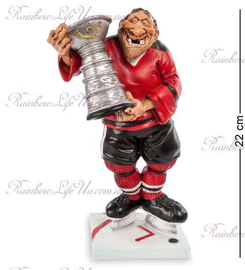 "Фигурка хоккеист с кубком ""W.Stratford"""