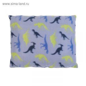 Подушка декоративная Динозаврики 30х40 см, 100% п/э