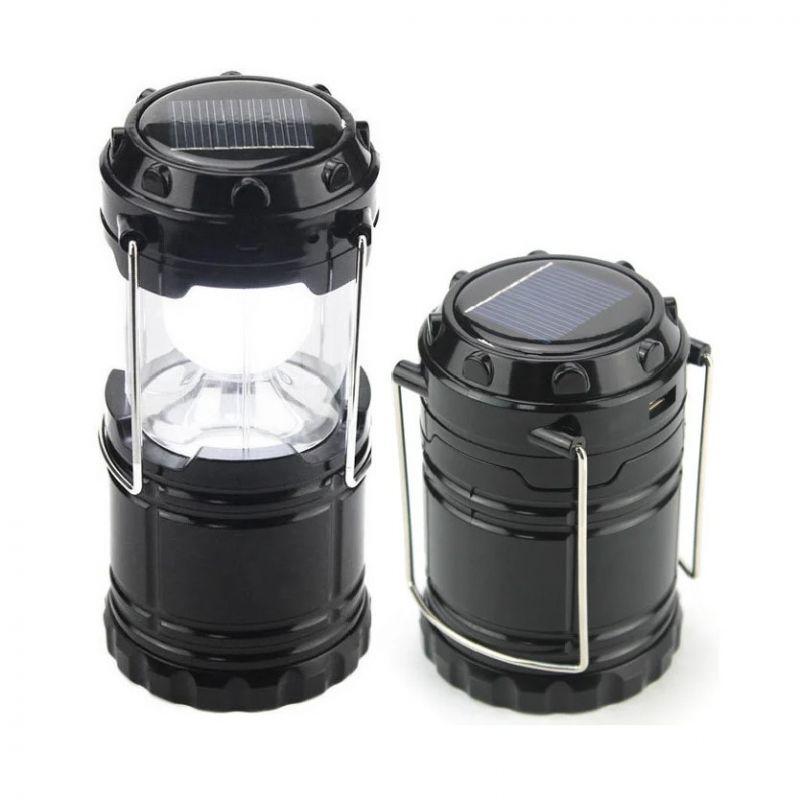Складной кемпинговый фонарь 3-в-1, 12 см