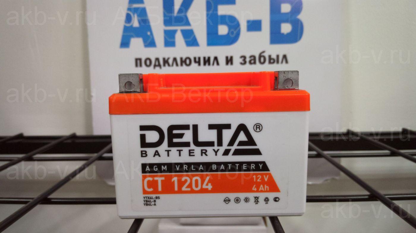 Delta СТ 1204 4Ач