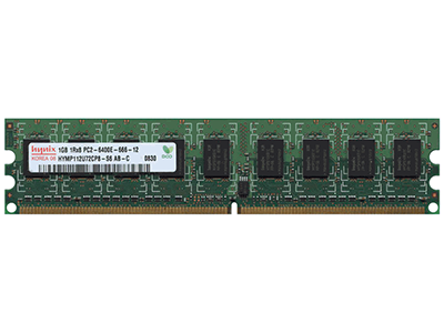 Оперативная память HP 1GB (1x1GB) Dual Rank PC2-6400 (DDR2-800)