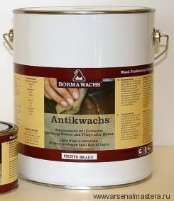 Воск античный Antik Wax 5л прозрачный Borma Wachs 3450