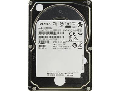 Жесткий диск Toshiba 300GB 10K 128MB SAS 2.5, AL14SEB030N