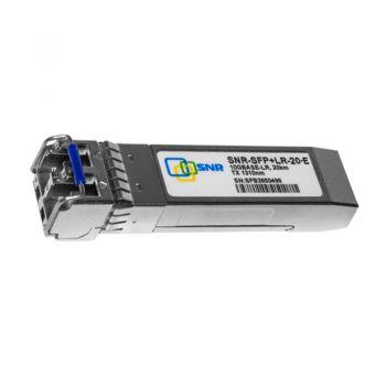 Модуль SNR SFP оптический, дальность до 80км (24dB), 1550нм, SNR-SFP-LX-80