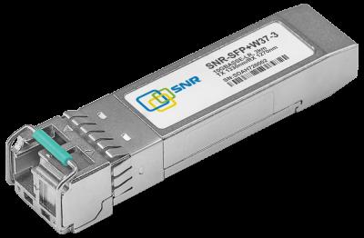 Модуль SNR SFP+ WDM, дальность до 3км (5dB), 1330нм, SNR-SFP+W37-3