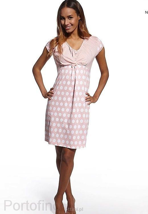 693-78 ночная сорочка Cornette для беременных девушек  и кормящих мам